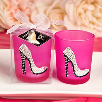 Girly High Heel Shoe Votive Candle Holder From