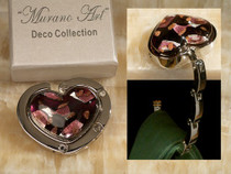 Murano Art Deco Collection Hand Bag Holder