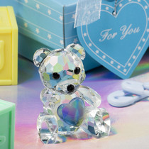 Choice Crystal Collection Teddy Bear Figurines - Boys