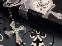 Blessed Events Key Chain Cross Collection