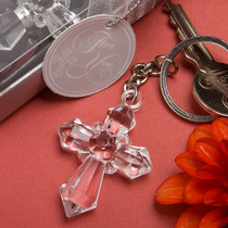 Sparklingly Special Cross Design Key chains