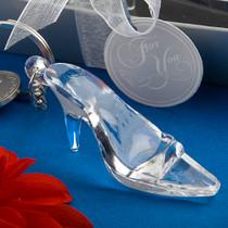 Cinderella Shoe Glass Slipper Key Chain Favour