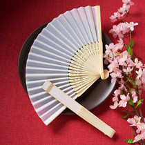 Elegant Silk Fans Favours