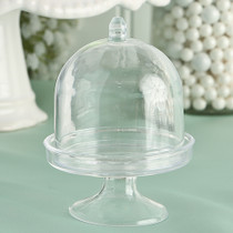 Mini Cake Stand Plastic Box From The Perfectly Plain Collection