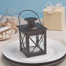 Love Lights The Way Metal Luminous Lanterns Black