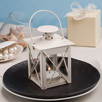 Love Lights The Way Metal Luminous Lanterns Ivory