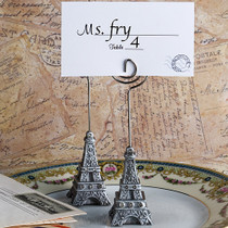 From Paris With Love Collection Eiffel Tower Place Card Holder Favours