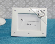 Diamante Heart Place Card Holder