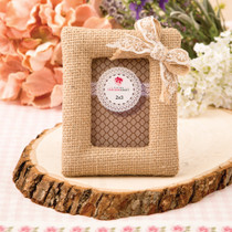 Burlap Picture Frame Place Card Holder From White Dream