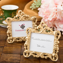 Gold Baroque Vintage Style Frame Favour Place Card Holder