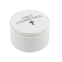 Juliana Ceramic Trinket Box - First Communion