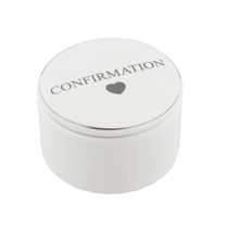 Juliana Ceramic Trinket Box - Confirmation