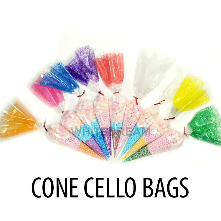 Cello Cone Party Bags