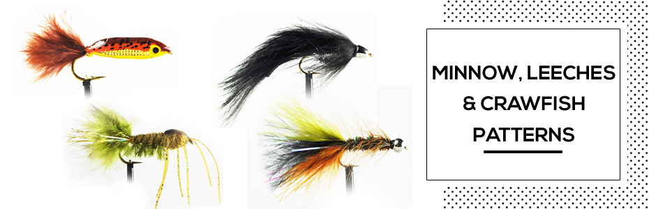 Minnow, Leech and Crayfish Fly Patterns