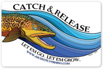 Catch & Release Decal