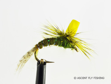 Green drake parachute emerger ascent fly fishing for Ascent fly fishing