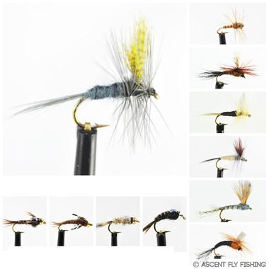 Hendrickson Mayfly Selection