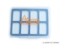 8 Compartment Small Magnetic Fly Box