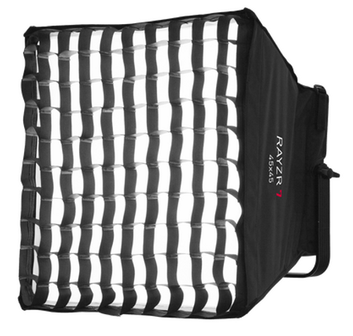 Softbox Diffuser Kit with Honey Comb for Rayzr 7 LED Heads