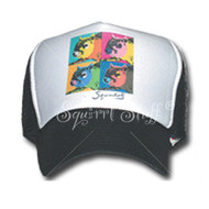 SqWarhol Black Trucker Hat