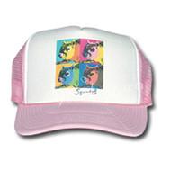 SqWarhol Pink Trucker Hat