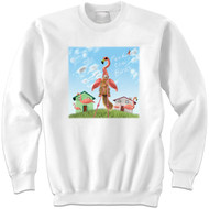 Feed the Flamingo Sweatshirt | Funny Squirrel Sweatshirt