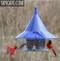 Sapphire Blue SkyCafe Bird Feeder - Hanging