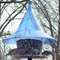Sapphire Blue SkyCafe Bird Feeder - Pole Mounted