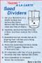 Mandarin Divider Instructions