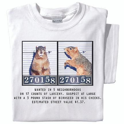 Mugshot T-shirt (white)