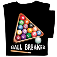 Ball Breaker T-shirt (black)