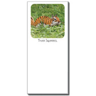Tiger Squirrel Notepad