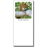 Jaguar Squirrel Notepad