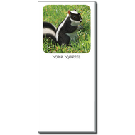 Skunk Squirrel Notepad