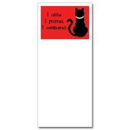 I Came I Purred Notepad