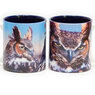 Great Horned Owls Mug