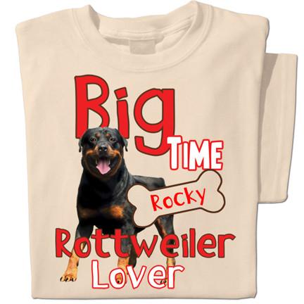 Big time Rottweiler Lover