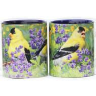 Summer Goldfinch Mug   Jim Rathert Photography