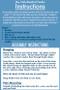 Bluebird Feeder Instructions