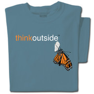 Organic Cotton Monarch T-shirt | ThinkOutside