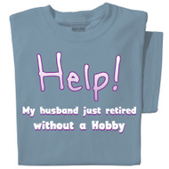 Help! My husband retired without a hobby