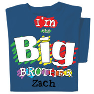 Big Brother Personalized Youth T-shirt