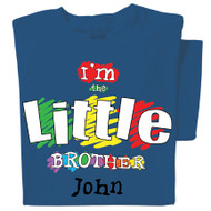 Little Brother Personalized Youth T-shirt