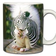 Zebra Squirrel *Equusciurus zebrinus Mug