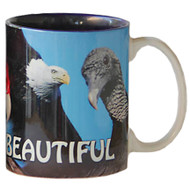 Bald is Beautiful Eagle Mug