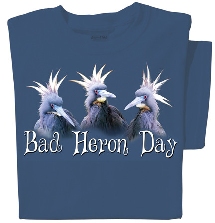 Bad Heron Day T-shirt