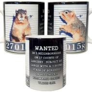 Mugshot Squirrel Mug