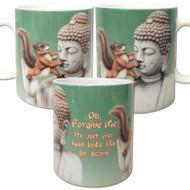 Oh, forgive me, I thought your head was an acorn mug