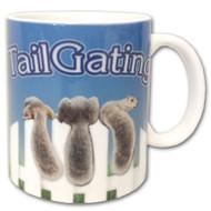 Tailgating Squirrel Mug