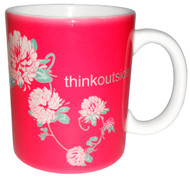 Think Outside Clover Flower Mug | 11 oz. ceramic